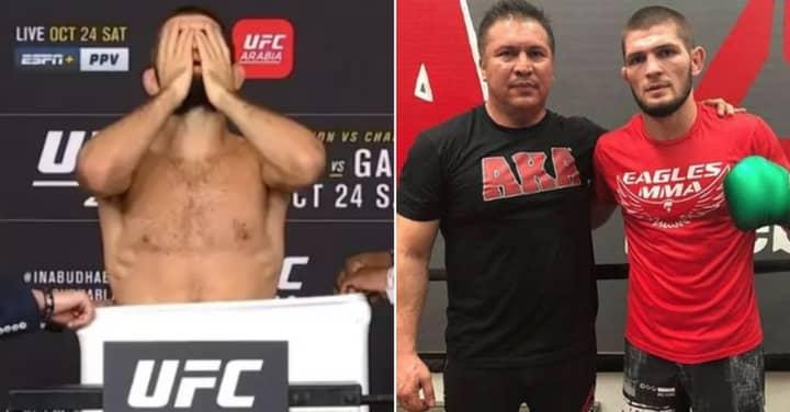 Khabib Nurmagomedov's Team Finally Respond To UFC 254 Weigh-In Controversy