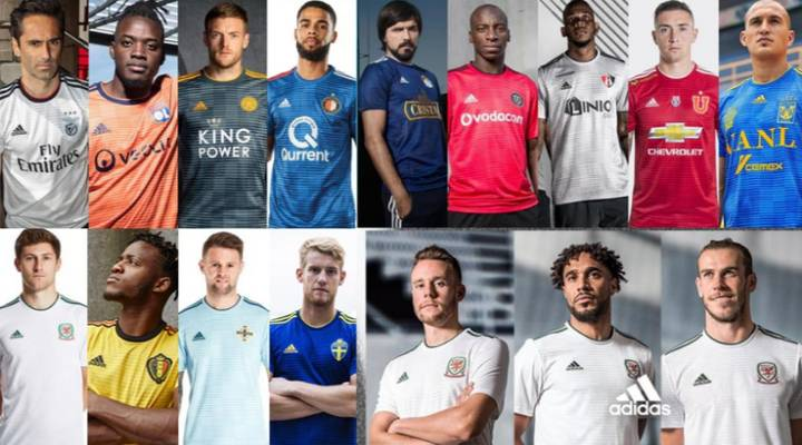 Adidas To Use Same Kit Design For Up To 50 Teams All Over Again