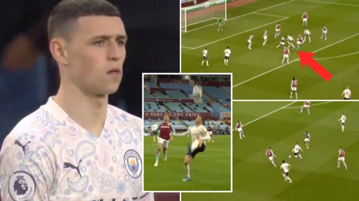 Compilation Of Phil Foden's Masterclass Against Aston Villa Shows He Is The Best Young Player In World Football