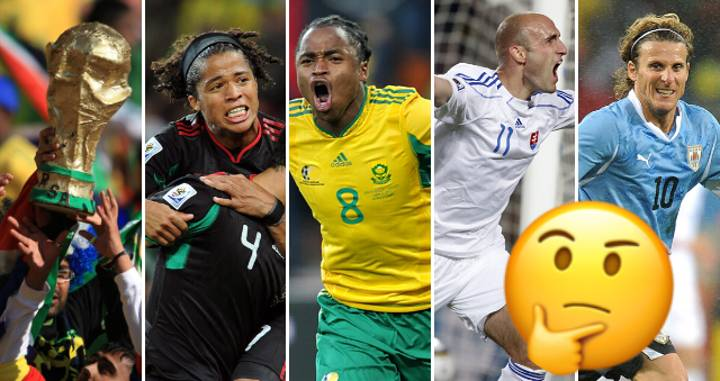 QUIZ: Can You Name The Breakout Stars From The 2010 World Cup in South Africa?