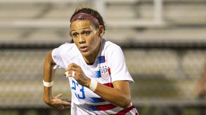 Dennis Rodman's Daughter Trinity Selected Second Overall In The NWSL Draft