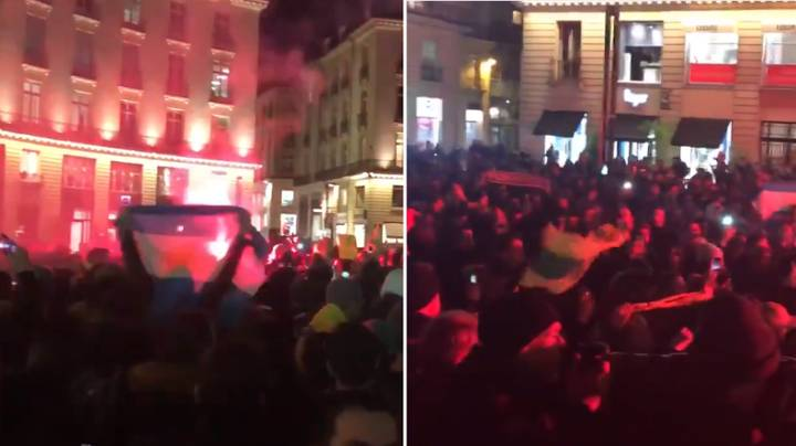 Nantes Fans Hold A Vigil For Striker Emiliano Sala In Moving Scenes