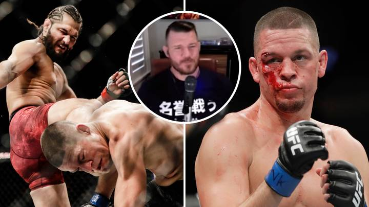Michael Bisping Launches Scathing Attack On Nate Diaz After UFC 244 Defeat To Jorge Masvidal