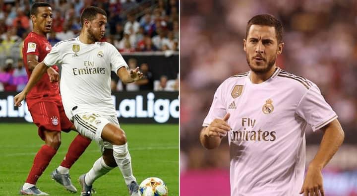 Ex-Chelsea Star Eden Hazard 'Arrived At Real Madrid Overweight'