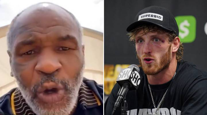 Mike Tyson Names Logan Paul's Next Opponent After Being Told He Was 'F**ked' For Mayweather Prediction