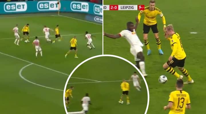 Julian Brandt Produces Filthy Turn And Goal For Borussia Dortmund Vs RB Leipzig