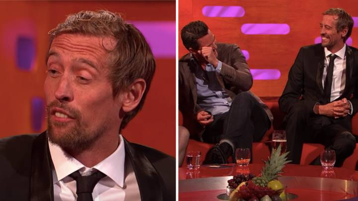 Peter Crouch Is Responsible For The Greatest One-Line Answer In An Interview Ever
