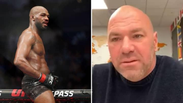 Dana White Confirms Jon Jones Will Fight For The UFC Heavyweight Championship