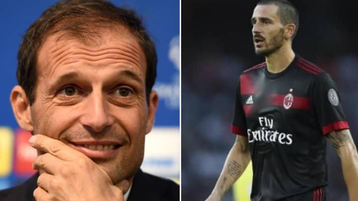 Juventus Have An Agreement In Principal For Leonardo Bonucci Replacement