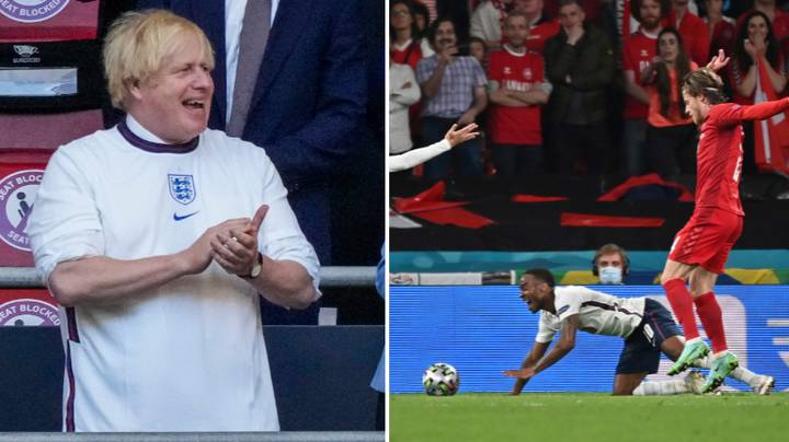 Italian Media Claim Raheem Sterling Penalty Was Only Awarded Because Of Boris Johnson