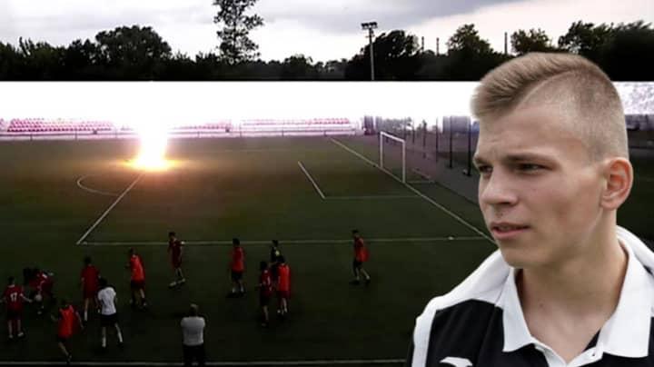 Goalkeeper Struck By Lightning Has Returned To Football Training