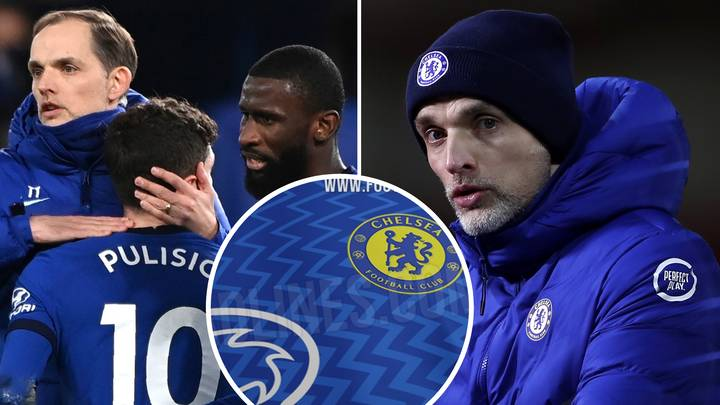 'Leaked' Images Of Chelsea's Home Kit For 2021-22 Season Emerge And Fans Are Furious With 'Atrocious' Design