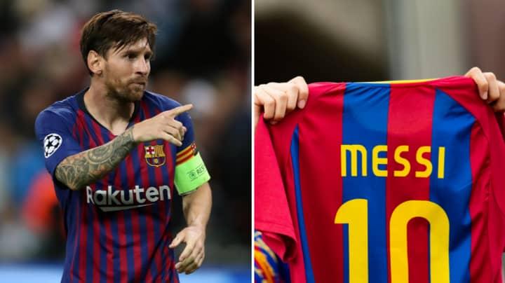 Barcelona's New Top Shirt Seller Revealed