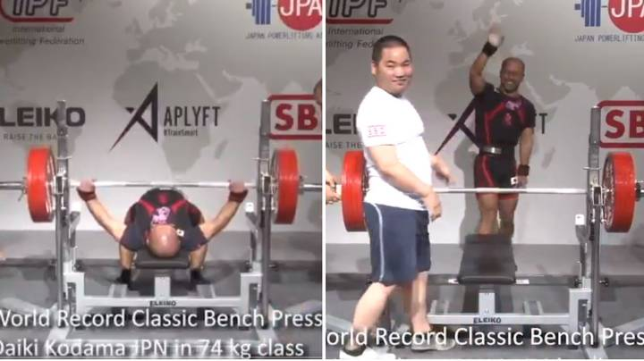 11 Stone Man Sets New World Record With 225 KG Bench Press