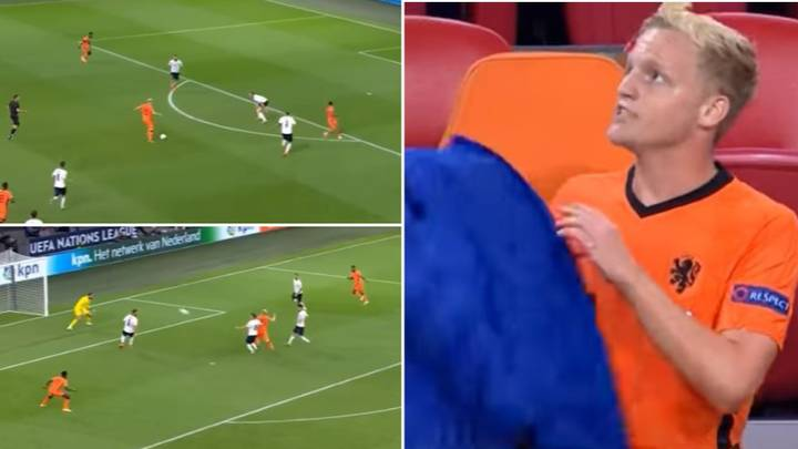 New Manchester United Signing Donny Van De Beek Had A Game To Forget For Netherlands