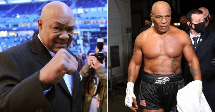 George Foreman Says Mike Tyson Can Get A Heavyweight World Title Shot