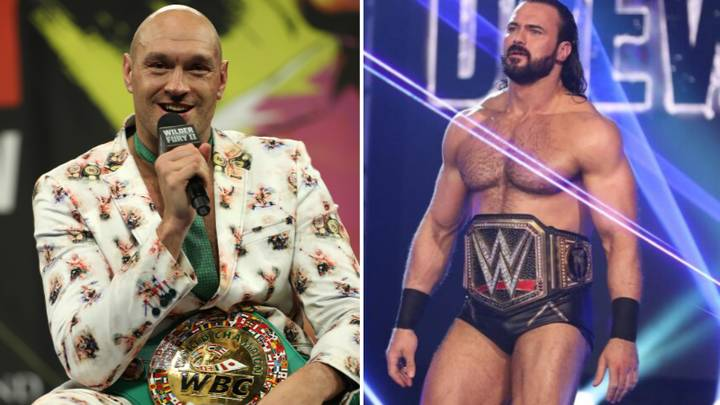 Drew McIntyre Wants Tyson Fury Showdown 'For The Right Reasons'