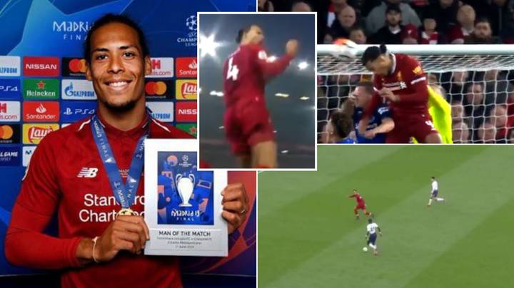 Thread Of Virgil van Dijk's 'Iconic' Moments Go Viral After Fan Claims He Has None