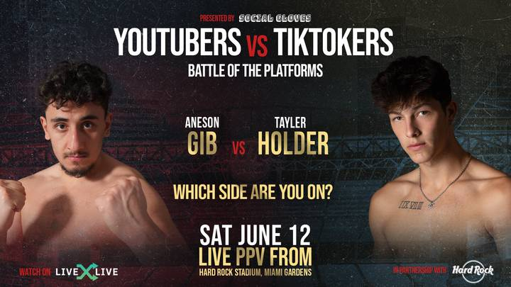AnEsonGib Vs Tayler Holder Boxing: Fight Date, UK Time And Betting