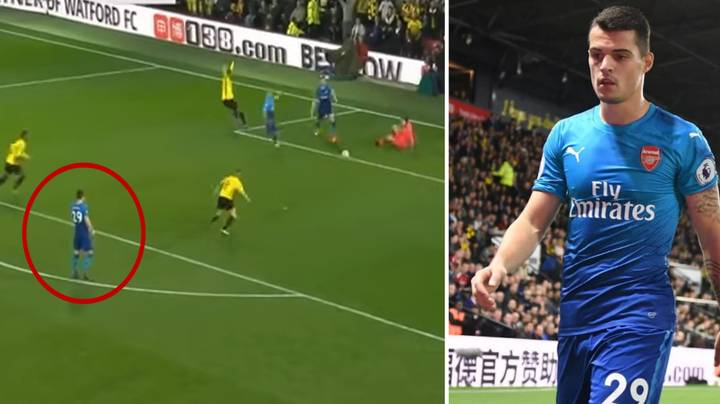 Nobody Can Believe What Granit Xhaka Did As Tom Cleverley Scored The Winner Against Arsenal