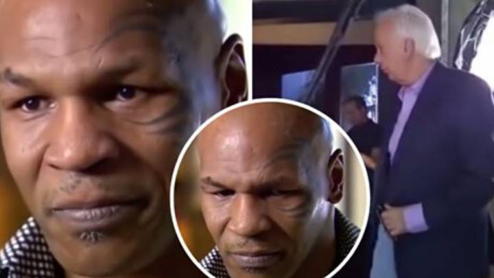 The Moment Mike Tyson Got So Emotional In An Interview He Told The Reporter To Leave