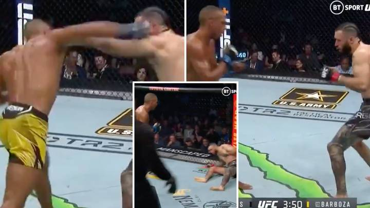 Edson Barboza Defeats Shane Burgos In Stunning Fashion With Bizarre Delayed KO Strike At UFC 262