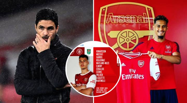 Arsenal Fans Are Furious William Saliba Isn't In The Squad To Face Manchester City