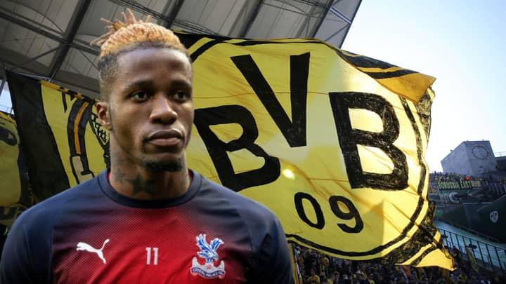 Borussia Dortmund Ready To Break Their Club Transfer Record For Wilfried Zaha