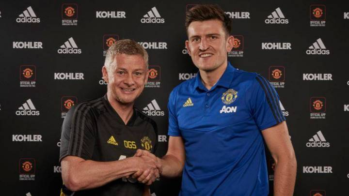 Manchester United Confirm The Signing Of Harry Maguire From Leicester City