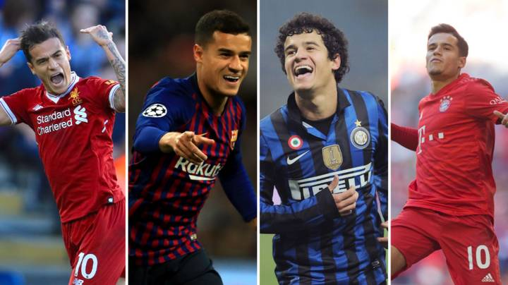 Philippe Coutinho Became The Fifth Player To Score In Europe's Top Four Leagues