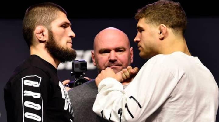 Khabib Beats Iaquinta, Wins UFC Lightweight Title