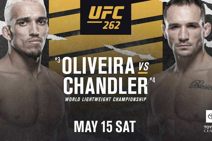 UFC 262: Oliveira Vs Chandler UK Time, Fight Card, Stream And Predictions