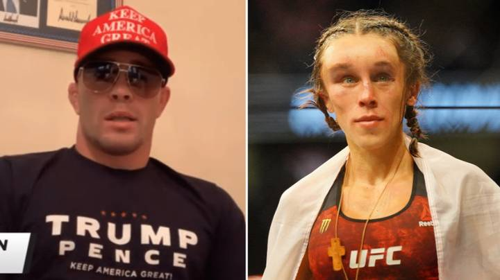Colby Covington Brutally Taunts Joanna Jedrzejczyk After She Suffers Horrific Hematoma At UFC 248