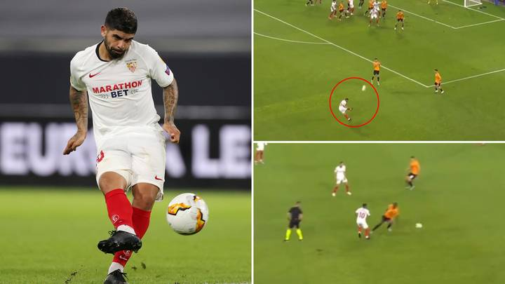 Ever Banega's Stunning Highlights For Sevilla Prove He Will Be A Danger For Man Utd