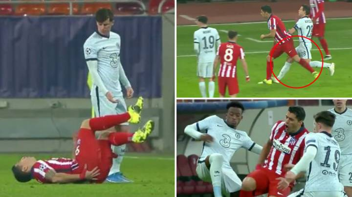 Luis Suarez's Antics In 48th Minute Of Atletico Madrid vs Chelsea Prove He Is Football's King Of S**thousery