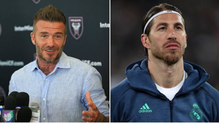David Beckham Wants To Sign Former Real Madrid Teammate Sergio Ramos For Inter Miami