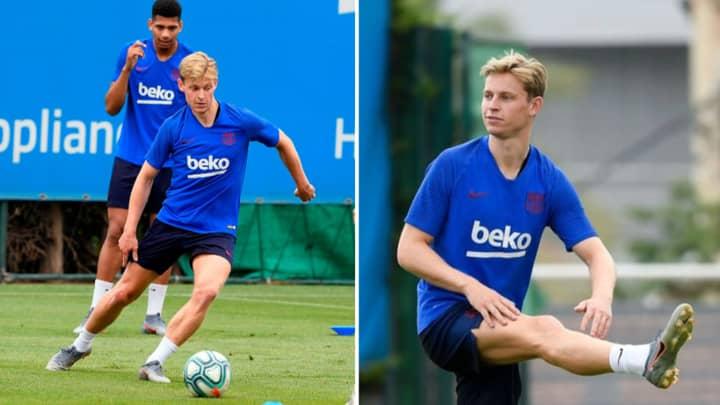 Frenkie De Jong Has Broken Several Barcelona Records In Training
