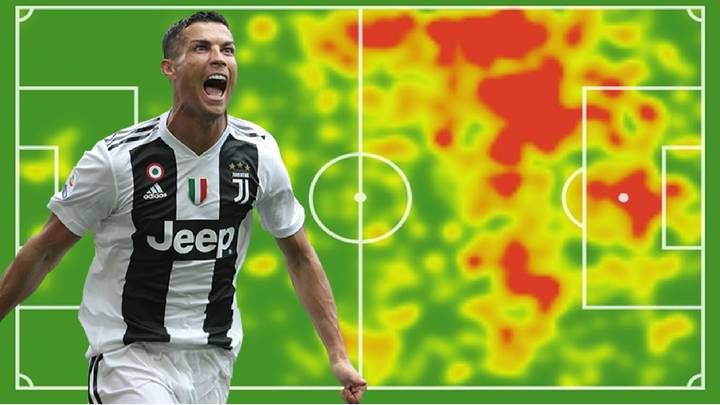 Cristiano Ronaldo's Heat Map Proves He's More Than Just A 'Poacher'