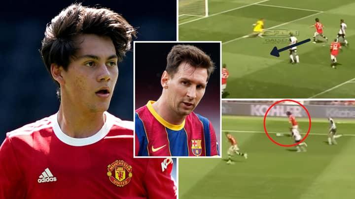 Facundo Pellistri Compilation Vs Derby County Left Manchester United Fans Comparing Him To Lionel Messi