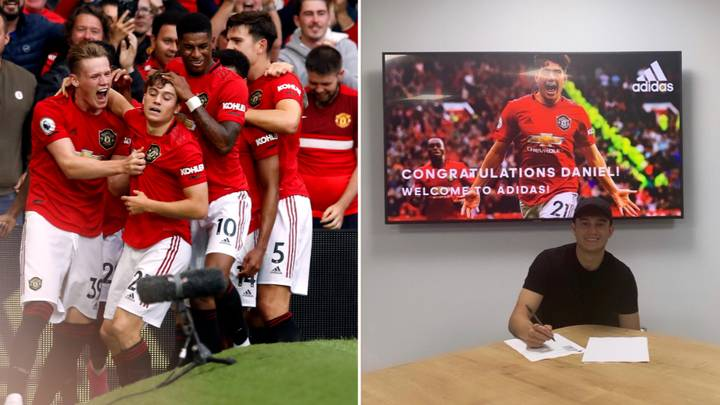 Daniel James Signs Deal With Adidas After Dream Manchester United Debut