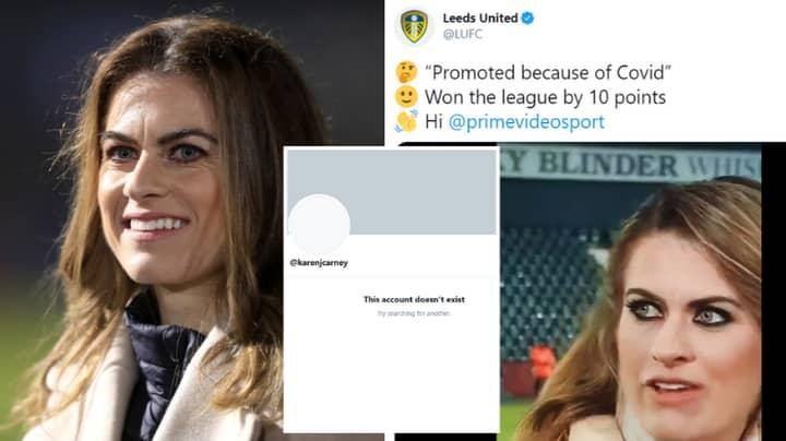 Karen Carney Deletes Twitter Account After Leeds United Fans' Abuse