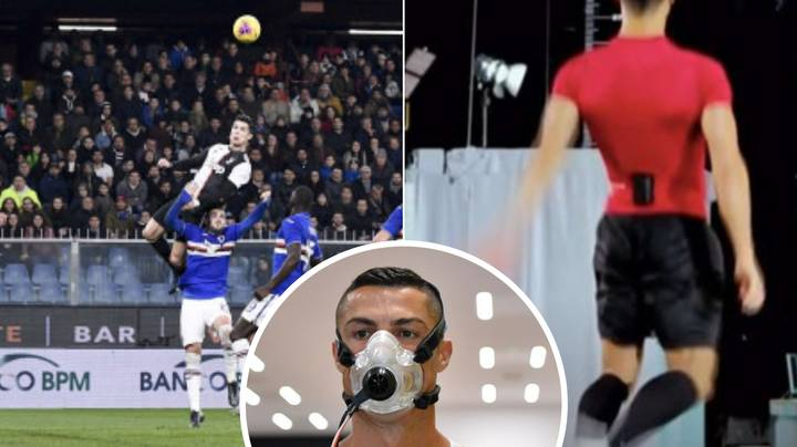 When Cristiano Ronaldo Had His Jump Studied By Scientists