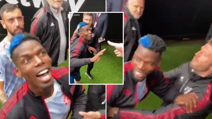 Paul Pogba Reacts Brilliantly To Abuse From West Ham Fans