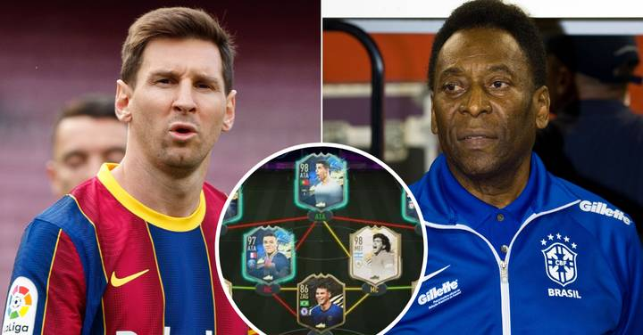 Pele Picks Insanely Attacking FIFA 21 Team Featuring An Incredible Array Of Talent