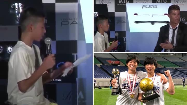 What Happened To Ryota Iwaoka: The Kid Who Was Ridiculed When He Told Cristiano Ronaldo His Dream