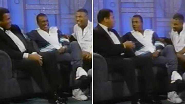 The Only Time Mike Tyson And Muhammad Ali Featured On A Talk Show Together
