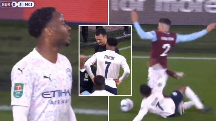 Sean Dyche's X-Rated Rant Towards Raheem Sterling Was Clear As Day Last Night