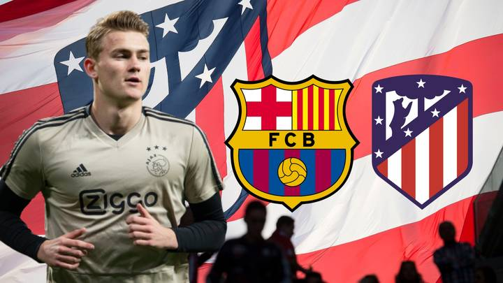 Atlético Madrid To Challenge Barcelona Over Matthijs De Ligt With €80m Offer