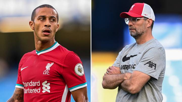 """Liverpool Signing Thiago Has Led To """"Many Unhappy Faces"""" In The Dressing Room"""