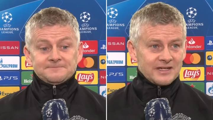 Ole Gunnar Solskjaer Gives Bizarre Post-Match Interview After Manchester United's Champions League Elimination
